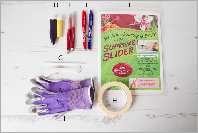 Quilt Making Tools Glossary Part 2 – Quilting & Finishing Tools – Quilt Making Basics