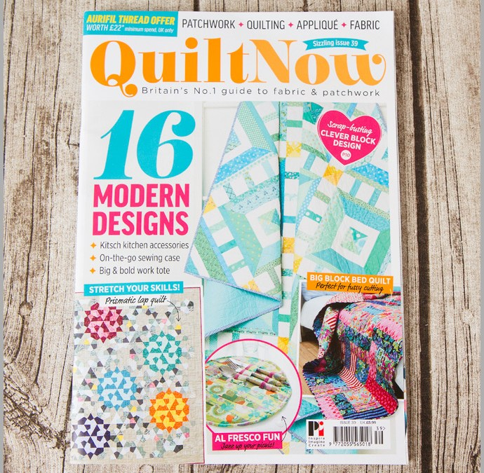 Quilt Now Issue 39 – Work Tote
