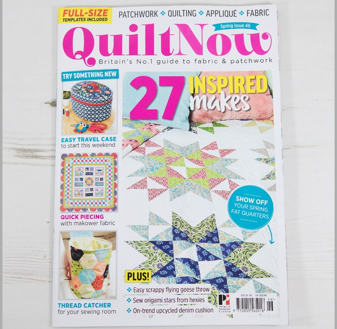 Quilt Now Issue 46 – To Do Blackboard