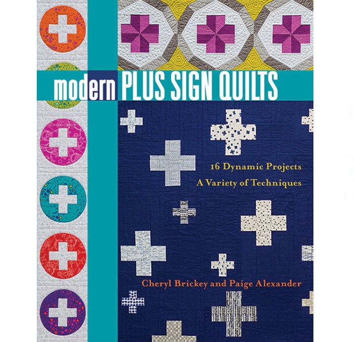 Book Review – Modern Plus Sign Quilts
