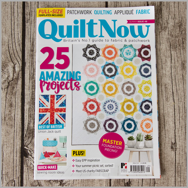 Quilt Now Issue 49 – Travel Eye Mask & Neck Pillow