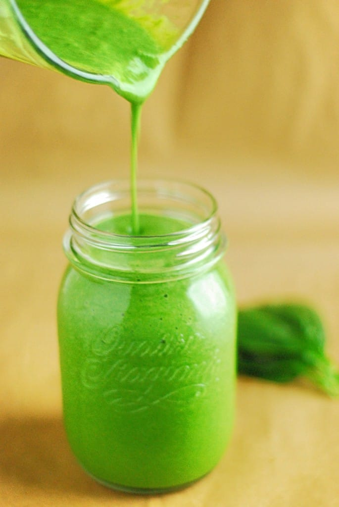 Low Carb Green Smoothie - Filled with nutrients and protein, this fresh smoothie is sure to pack a punch!