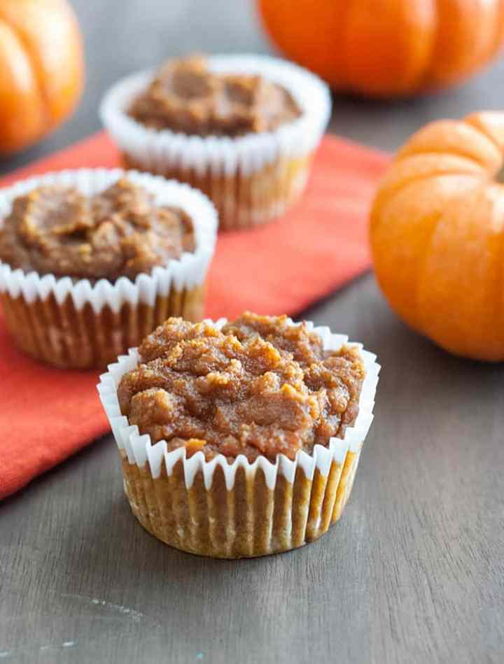 Healthy & Low Carb Pumpkin Muffins - Incredibly easy to make and absolutely delicious to devour.