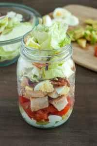 Cobb Mason Jar Salads