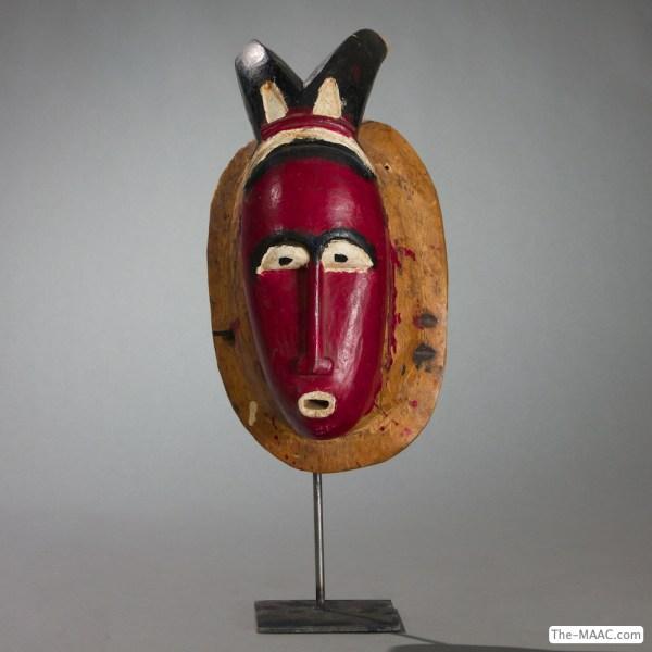 Baule Mask - Manhattan Art And Antiques Center
