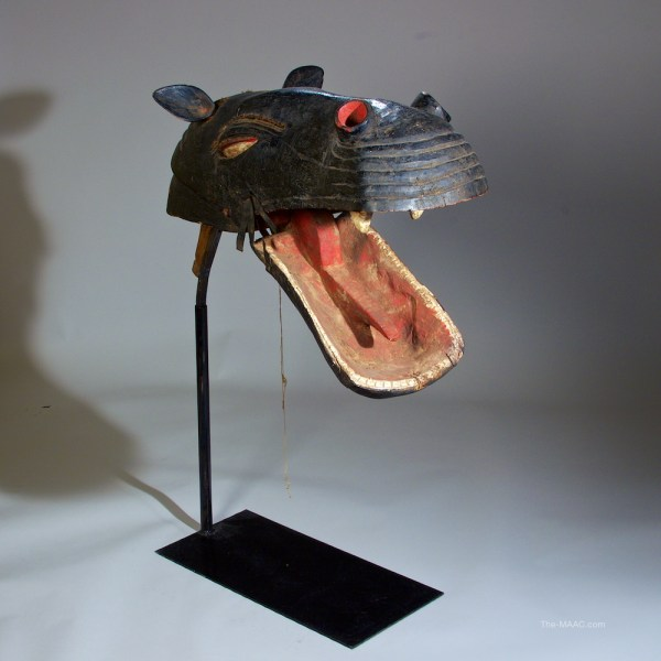 Hippo Puppet Bozo Tribe - Manhattan Art And Antiques