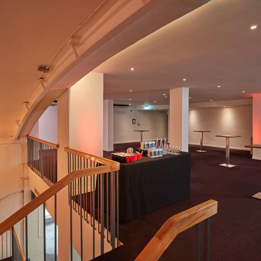 foyer mezzanine events reception