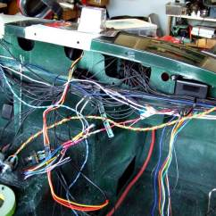 One Way Wiring Diagram Power Wheels 12 Volt The Mite | Customizing A 1965 Sprite Part 42 Wiring, Dash Pad, Wipers....