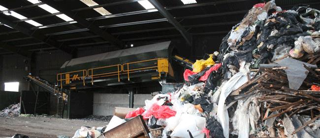 Waste Recycling Plant - trommel