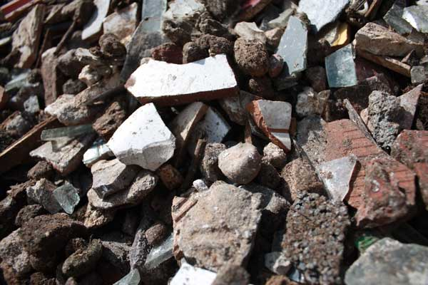 10-40mm Heavy Fraction Aggregate from Trommel Fines