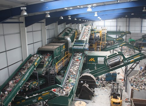 Solid Recovered Fuel SRF Plant