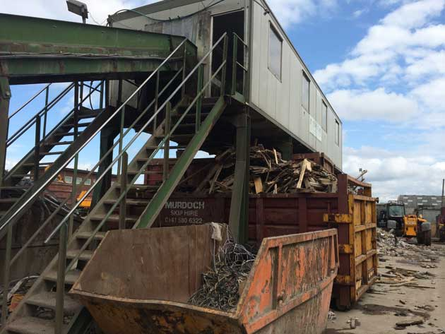 Used Waste Recycling Plant for Sale