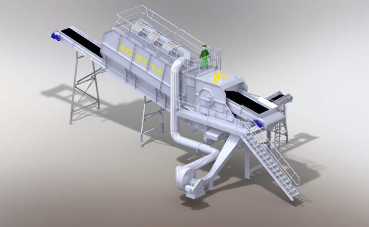 Air Density Separator