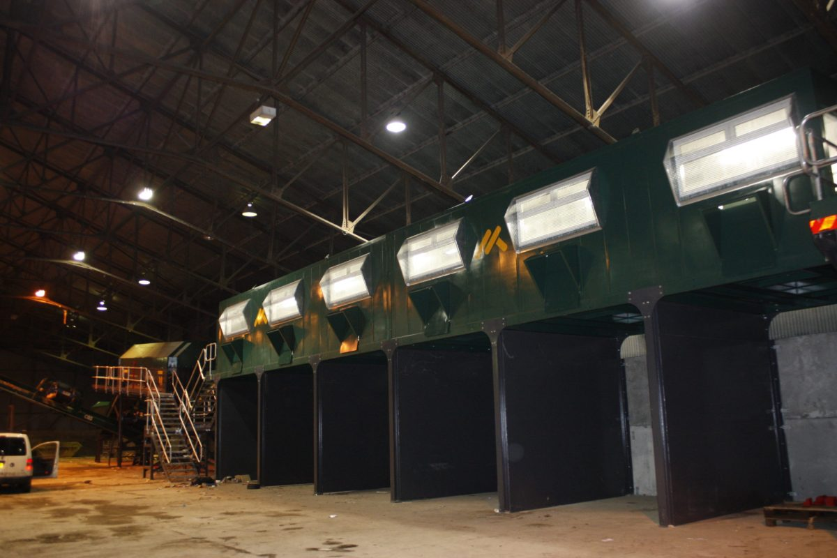 Waste Processing Equipment Picking Station
