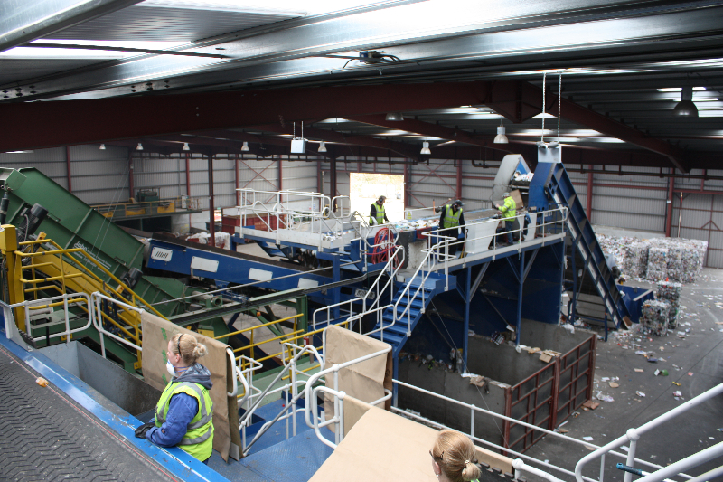 Co Mingled Waste Materials Recovery Facility (MRF).