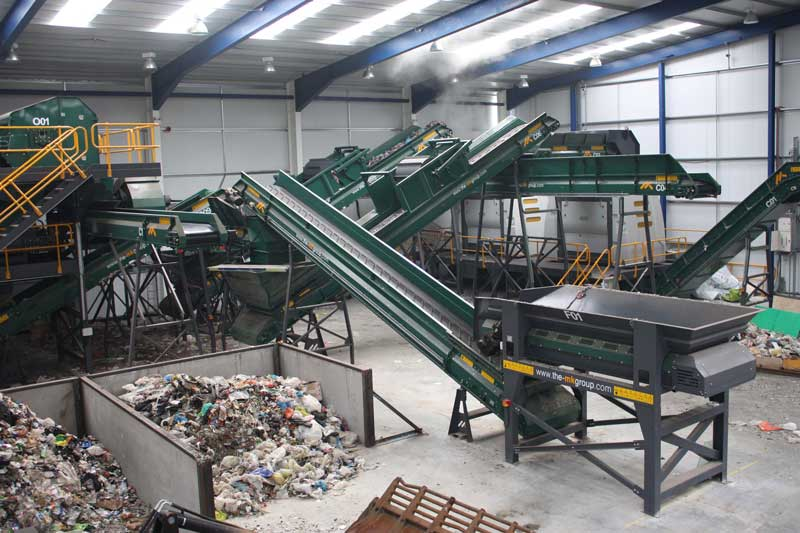 Solid Recovered Fuel (SRF) - Shredders. Lancashire Waste Recycling's Solid Recovered Fuel SRF Plant