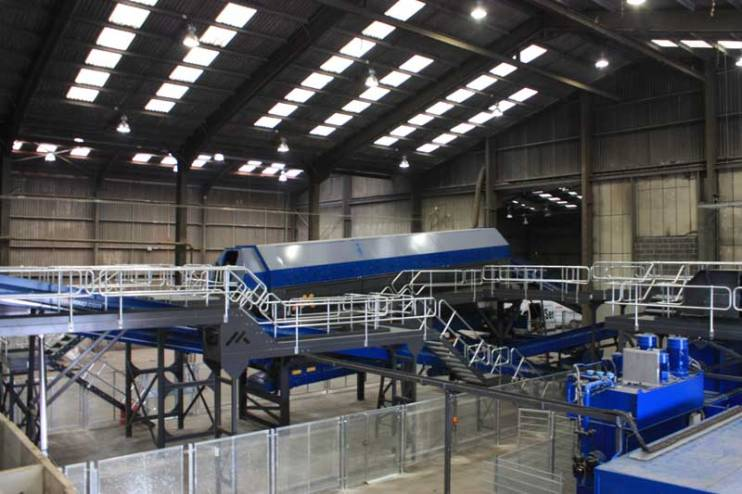 Refuse Derived Fuel Plant