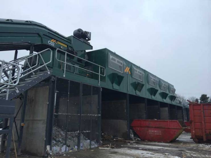 Picking Cabin Waste Recycling Equipment
