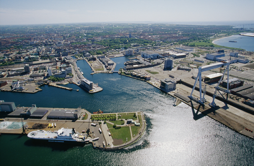 Malmö port Transfrontier waste shipping