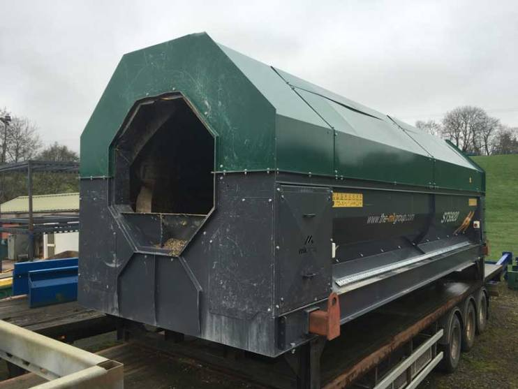 Used Trommel Screen