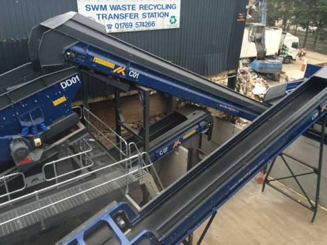 Recycling Conveyors