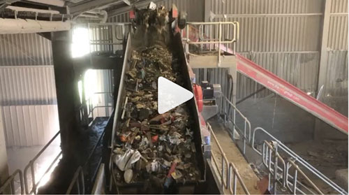 Waste Screen Processing 70tph