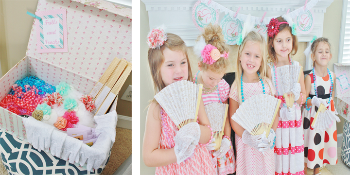 Tea Party Birthday Dress Up