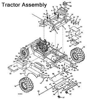 Model 721D2 2001 Grasshopper Mower Parts Diagrams- The