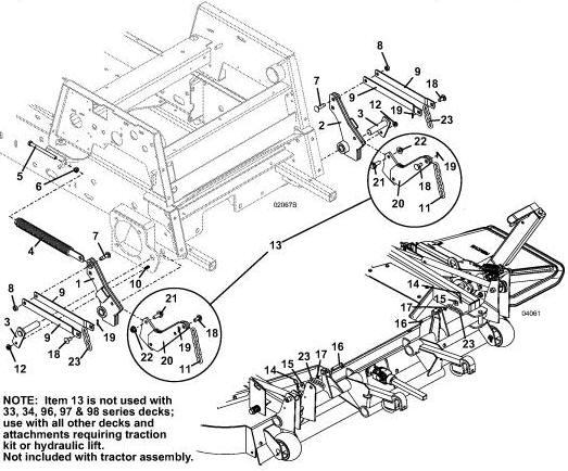 722D2 2008 Grasshopper Mower Diagrams