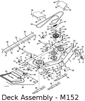 2004 220-225 Mid-Mount Mower Parts DiagramsThe Mower Shop