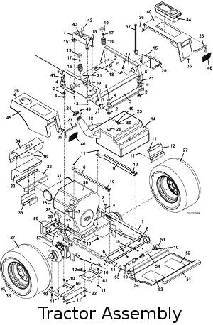 2004 220-225 Mid-Mount Mower Parts DiagramsThe Mower Shop