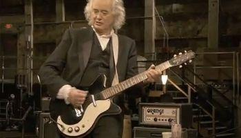 Jimmy Page Danelectro Shortlin gitárja