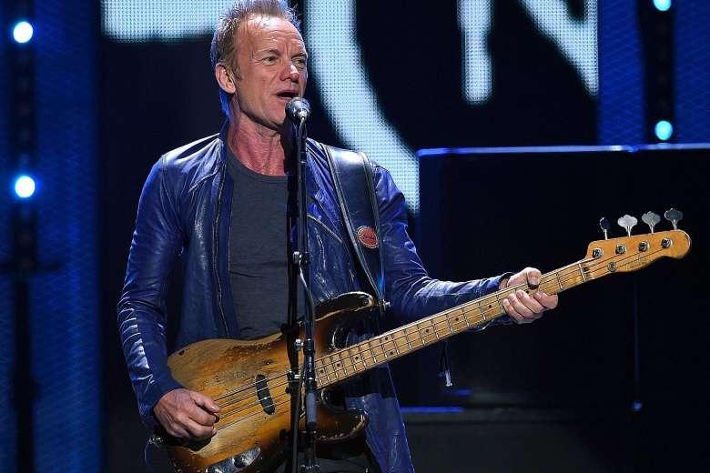 Sting - Fender Stratocaster