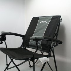 Strongback Chairs Canada Huey P Newton Chair Elite Folding Camping Lumbar Support Backpack Style Used