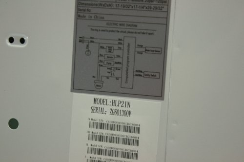 small resolution of  haier hlp21n portable top load washer stainless steel tub pulsator on meyer e 60 part diagram wiring
