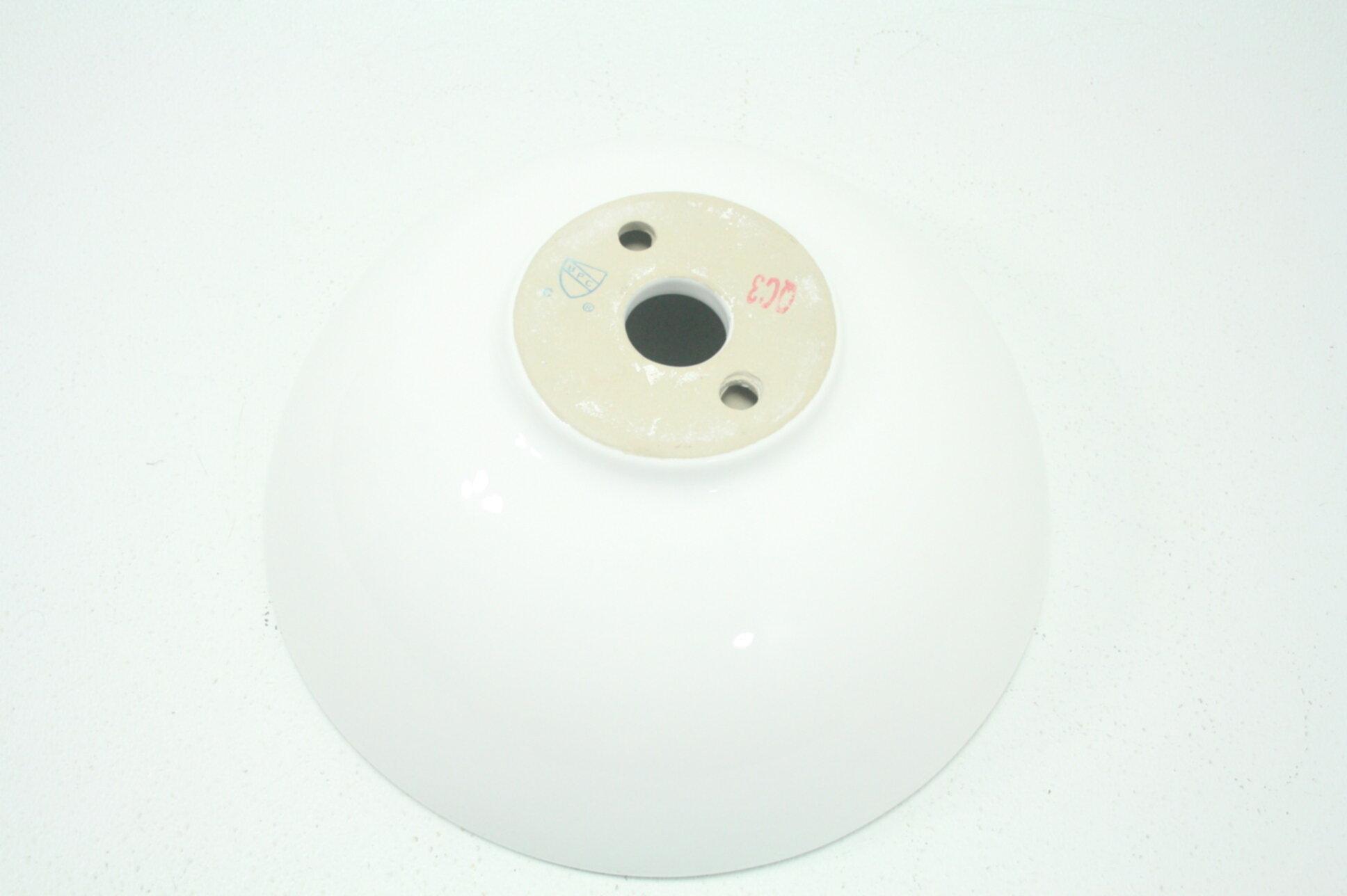 Kraus KCV-141 White Round Ceramic Bathroom Sink Above ...