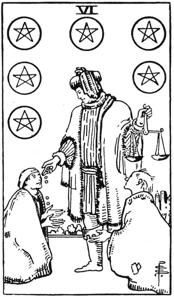 Tarot Card Coloring Pages