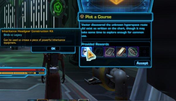 Legacy Gear можно добыть через миссии компаньонов