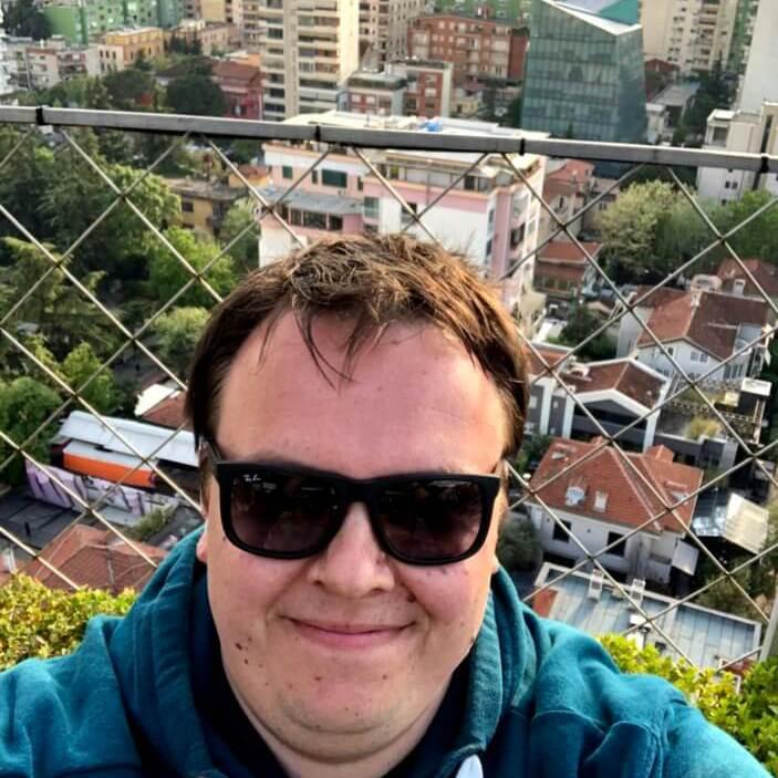 Stefan Christmann, Tirana