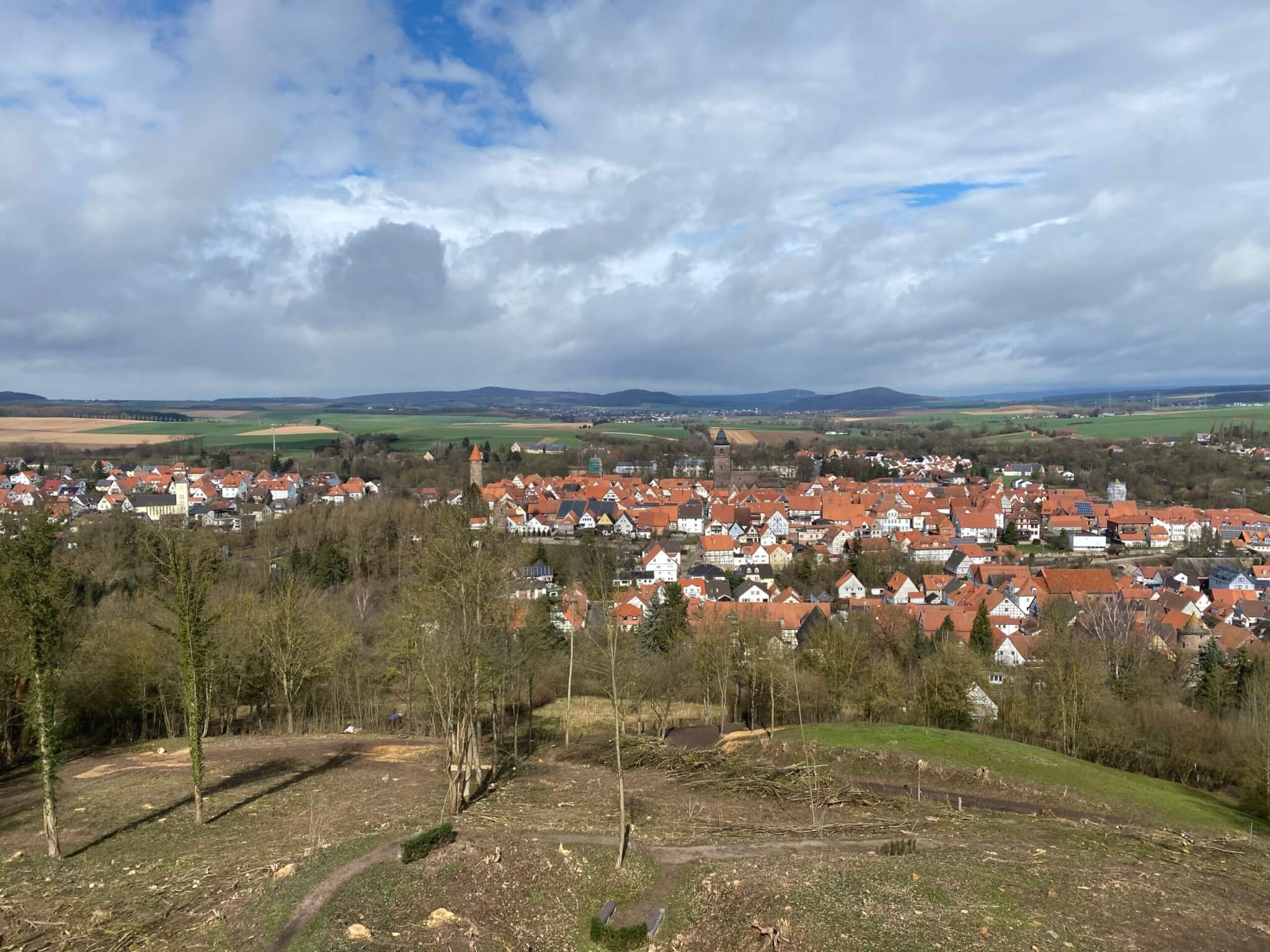 View from Burg Grebenstein