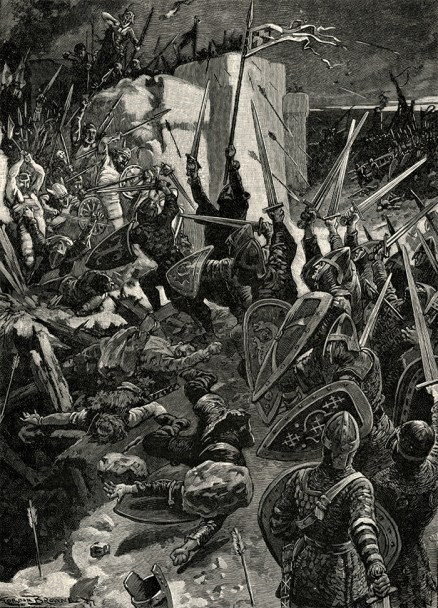 The Siege of Waterford, 1170.