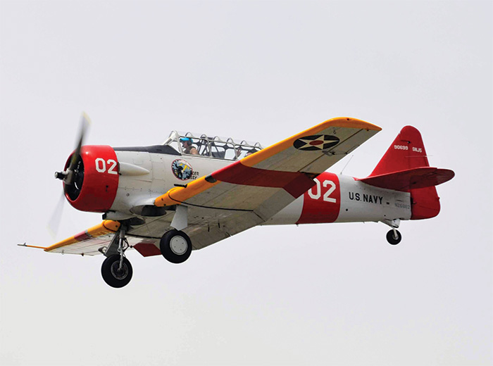 Highly similar to combat aircraft already in use, the AT-6 Texan was perfectly suited to train over 300,000 Allied pilots during the course of the war.