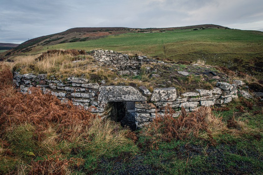 BELOW After an almost complete collapse, the Ousdale Broch has been expertly restored.