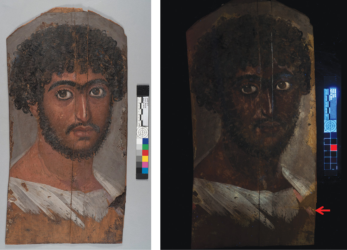Parsing the properties of Egyptian purple pigments