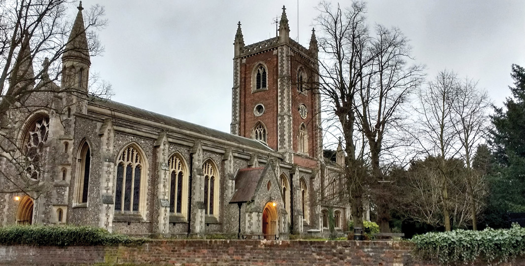 BELOW Linking data from religious institutions across the UK would allow researchers to appreciate places of worship, their furnishings, and their memorials as a whole.