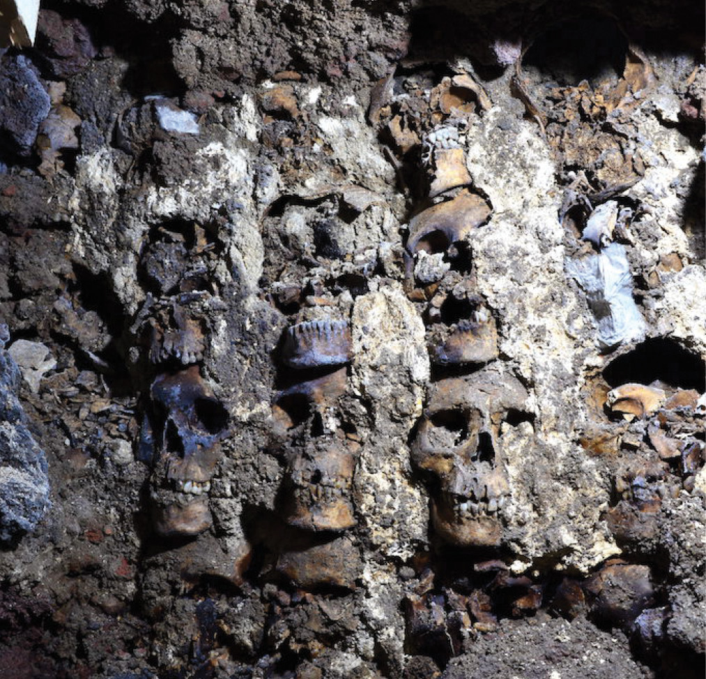 'Tower of skulls' discovered in Tenochtitlan