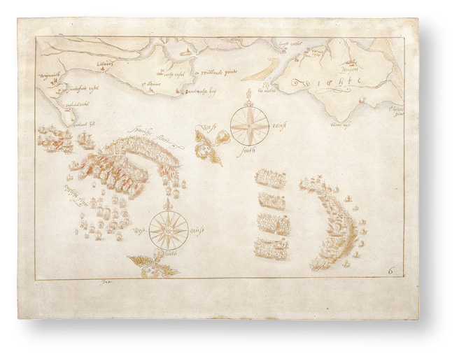 Spanish Armada maps saved 'for the nation'