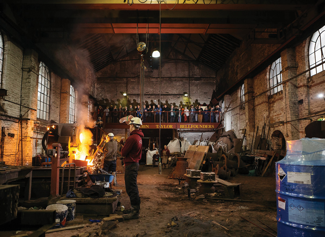 images: Loughborough Bellfoundry Trust.