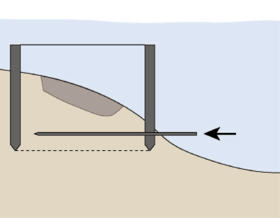 below The 'Save the London 1665' campaign's proposal for how the wreck could be raised in situ, and subsequently excavated within a purpose-built facility.