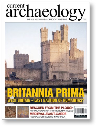 LEFT CA 211 examined how North Wales managed to remain the last bastion of 'Roman' Britain, until Edward I captured Caernarfon Castle in 1278.